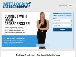 Meet Local Crossdressers Homepage Image