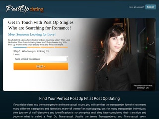 Post Op Dating Homepage Image